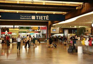 Terminal Rodoviario Tietê by Jaqueline