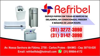 Refribel Conserto de Geladeiras BH by Sueli Barbosa