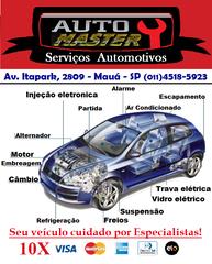 Auto Master - Ar condicionado - Mecânica - Injeção Eletrônica - Mauá by Wilson Serpa