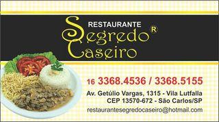 Restaurante Segredo Caseiro by Marivan José Da Silva