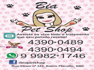 Bia Pet Shop by Anelise Santos Menezes