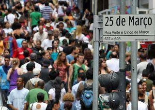 Rua 25 de Março by Apontador