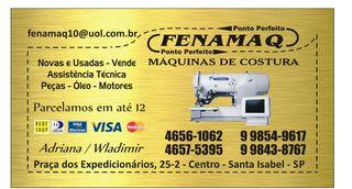 Fenamáq Máquinas de Costura by Fenamaq10