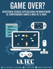 Ultec Informática manutenção notebooks e computadores by Ultec Informática
