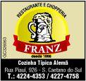 Restaurante Franz by Thomas Cavalcanti Coelho