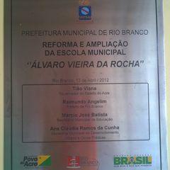Escola Municipal Alvaro Vieira da Rocha by Roberto Santos
