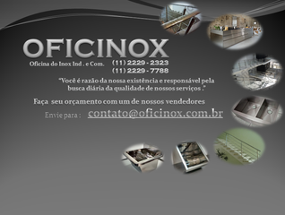 Oficinox - Ind. e Com. de Inox . by Lilian Cristina