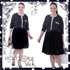 Vickttoria Vick Plus Size - Brasília by VICKTTORIA VICK Plus Size