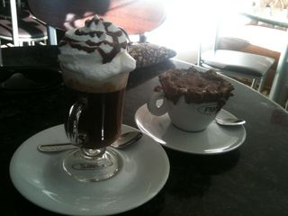 Frans Café Rouxinol - Indianópolis. by Christo
