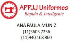 Appjj Fabricante de Uniformes Profissionais e Escolares - Osasco by Anne Santos