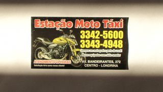 Mototaxi Estação - Londrina by Wagner Costa