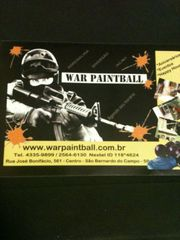 War Paintball by Luciana