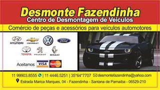 Desmonte Fazendinha by TATIANA