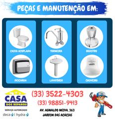 Casa dos Reparos - Serviço Autorizado Deca Hydra by Gabriel Constantino
