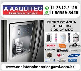 Filtro de Água Para Geladeira Side By Side by Assistenciatecnicageral