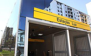 Estação da Luz by Apontador