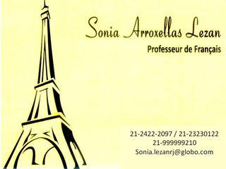 Aulas Particulares de Francês - Rio de Janeiro Rj by Sonia De Arroxellas Lezan