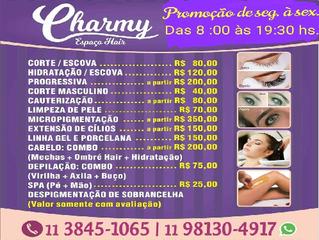 Charmy Espaço Hair - Salão de beleza Uni na Vila Olímpia - Manicure Pedicure e Cabeleireiro by Anna