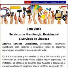 Adailton Serviços Domiciliares - Manutenção Residencial e Limpeza by Apontador