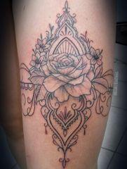 Shinzato Tattoo by Cesinha Tatto Shinzato