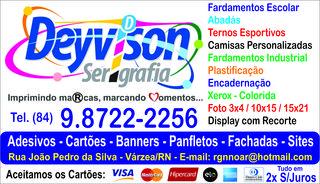Gráfica e Serigrafia - Várzea Rn by DEYVISON SERIGRAFIA E CONFECÇÕES