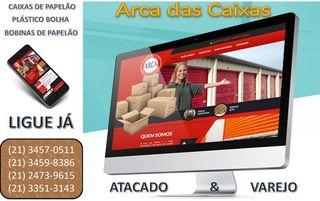 A Arca das Caixas - Comércio de Embalagens Rj by A Arca Das Caixas