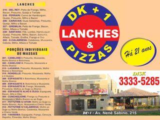 Dk+1 Pizzas e Lanches