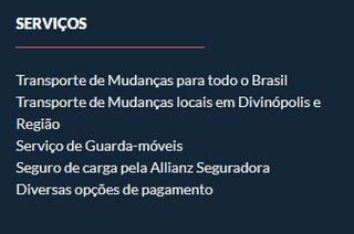 Mudanças Divinopolitana - Vl Belo Horizonte by Larissa Tavares