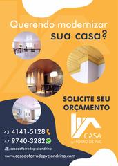 Casa do Forro de Pvc by Manoel Dos Santos