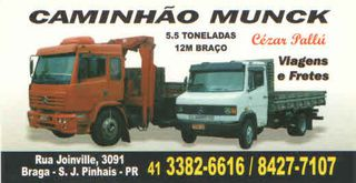 Pallu Locação de Caminhão Munck e Transportes - São José dos Pinhais by Cesar Pallu