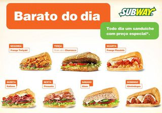 Subway Rubem Berta by Santinho Santiago