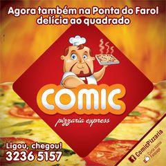 Comic Pizzaria by Thomas Cavalcanti Coelho