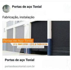 Portas De Aço Tonial by Portas De Aço E Serralheria Tonial