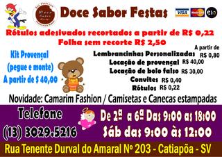Doce Sabor Festas by Doce Sabor Festas
