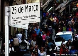 Rua 25 de Março by Nayara Silva