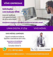 Link Dedicado Vivo - Solicitações para provedores e empresas by Link Dedicado Na Internet