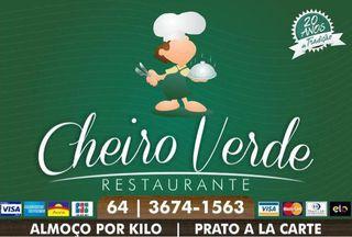 Cheiro Verde Restaurante e Pizzaria - S dos Funcionários by Tatiana Perdomo