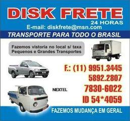 12a730708138 Mudanças Disk Frete - Itaim Bibi - Vila Nova Conceição, São Paulo ...