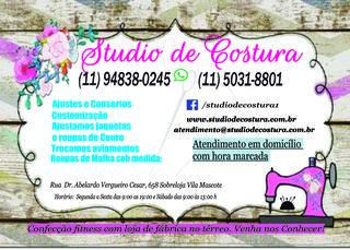 Studio de Costura - Todos Os Tipos de Reforma e Consertos Em Roupas Em Geral by Studio De Costura