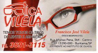 Francisco Jose Vilella Otica Me by Otica Vilela
