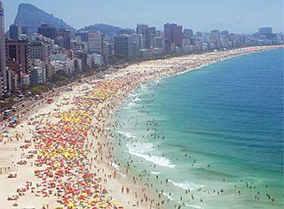 Foto de  Praia de Copacabana enviada por Edielle Moura em 11/02/2015
