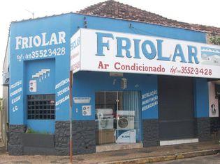 Foto de  Friolar Ar Condicionado enviada por Edneia Samira Floriano em 13/11/2011