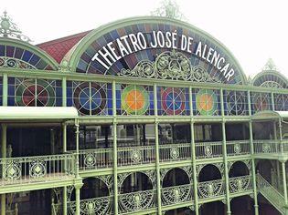 Foto de  Theatro José de Alencar enviada por Sabyne Albuquerque em 05/02/2015