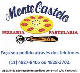 Foto de  Pizzaria e Pastelaria Monte Castelo enviada por Regiane Sayuri Yamashiro em