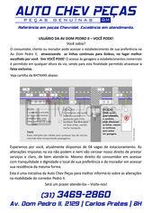 Foto de  Auto Chev Peças enviada por Auto Chev Peças em 17/11/2014