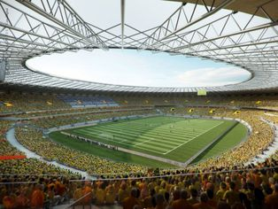 Foto de  Estádio Mineirão enviada por Daniele Mendes em 17/06/2014