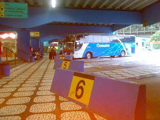 Foto de  Rodoviária de Santos enviada por Ricardo Martins em 27/10/2010
