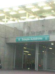 Foto de  Estação Autódromo enviada por Jecilene Martins Costa em 07/03/2013