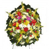 Foto de  Coroas Cemitério do Araçá Na Dr Arnaldo enviada por Floricultura Visa Flores em 12/06/2014