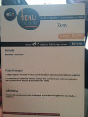 Foto de  Cone Sushi Bar enviada por Renato Kialka em 04/09/2014